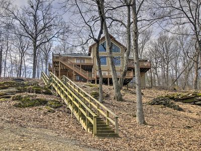 Photo for Beaver Lake Home w/ Decks, Fire Pit & Boat Dock!