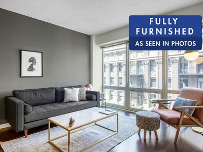 Photo for Dapper Loop 1BR w/ Gym, Pool, W/D by Finance District & L, by Blueground