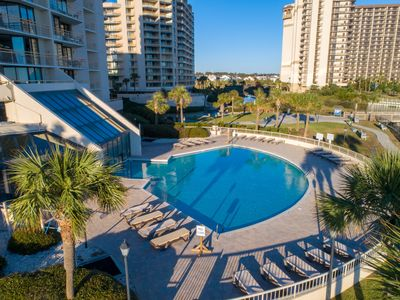 Photo for 20 % OFF in June-ONLY 4 BR Ocean Creek! *Indoor/Outdoor Pool* 3 Balconies*