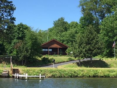 Photo for Peaceful And Serene Location With Great Lake View, Fishing, And Wildlife Sights.