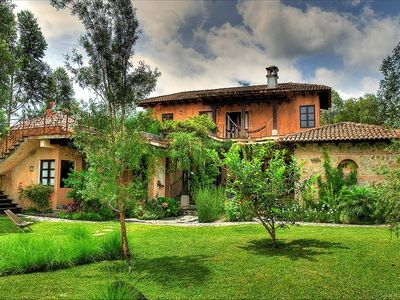 Photo for Spectacular Mountainside Villa Near Antigua