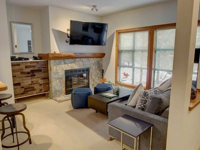 Photo for The Woods 1 bedroom, sleeps 4, close to village, slope and lake