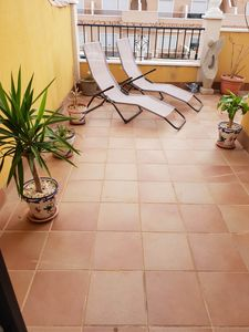 Photo for Beautiful Modern 3 bed villa with Gated Garden, Communal Pools and Jacuzzi