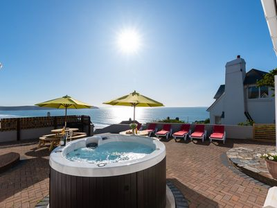 Photo for Woolacombe Holiday Home Sleeping 10 With Hot Tub