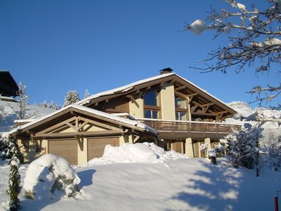 Photo for Chalet Rafaelle, a luxury 6 bed chalet enjoys the most breathtaking views