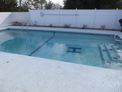 Shared Swimming pool with another unit and owner