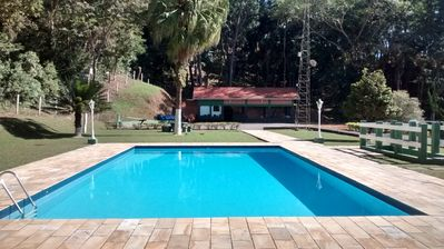 """Photo for SITE PERALTA in Santa Isabel-SP """"Heated Pool"""""""
