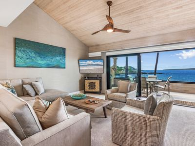 Photo for Newly Remodeled Maui Oceanfront 3br/3ba condo with Views, Views, Views
