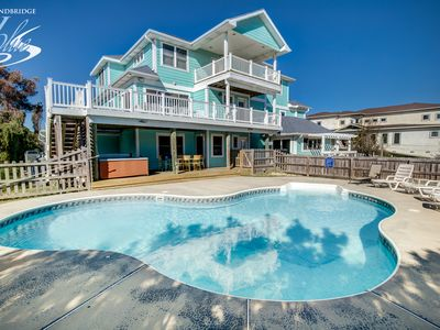 Photo for A Wish Upon A Star | 884 ft from the Beach | Private Pool, Hot Tub