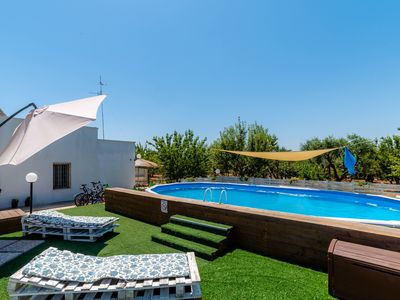 Photo for Borgo Tortorella - Casa Ulivo, apt in villa with shared pool & garden