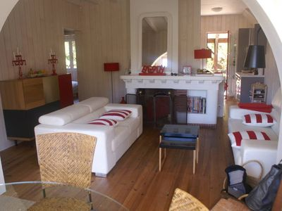 Photo for Cozy villa in the heart of 44 hectares