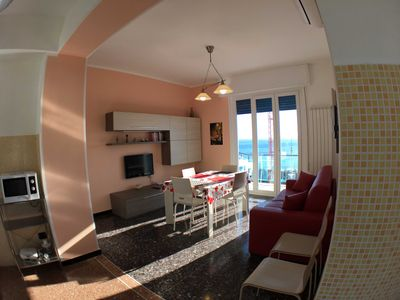 Photo for Arcobaleno Apartment in Albissola Marina (SV) 500 meters from the sea.