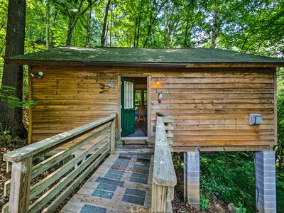 Photo for NEW! Secluded 'Gone Hunting' Cabin w/ Hot Tub!