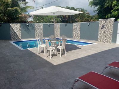 Photo for House Closed Condominium, Beachfront, Wifi, Pool, Barbecue, Brewery