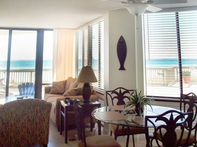 Photo for ~Life's Better in Flip Flops @ Bare Feet Retreat~First Floor Walkout To Beach & Beautiful Sunsets!