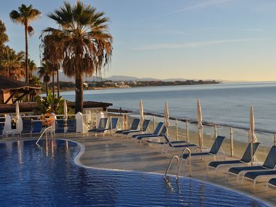 Photo for Beach apartment with sea view - Gilbraltar and Africa