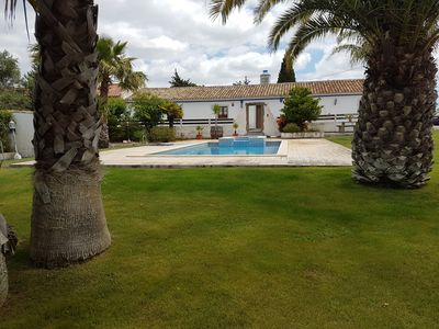 Photo for Family farm in calm environment with swimming pool