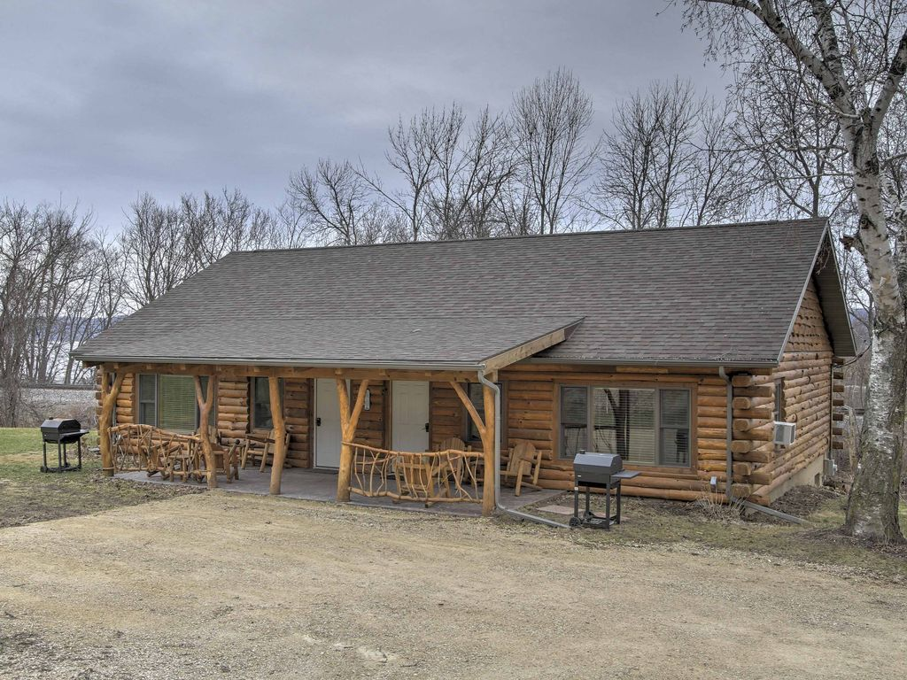 New 2br Ferryville Cabin On Mississippi Homeaway