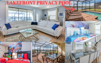 Photo for ⚜FREE Gift 2020 Reservations⚜ Elegant Private Lakefront Pool Home Sleep 10⚜
