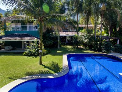 Photo for Ang021 - Luxury beach house in Angra dos Reis