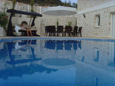 Photo for 7* Luxury Villa in Kalamar Bay, Kalkan