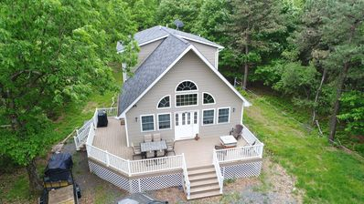 Photo for Great Chalet in Towamensing Trails one mile from the pool & lake!