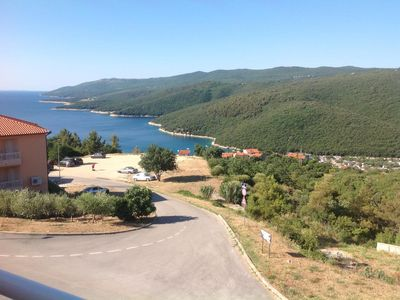 Photo for Two bedroom apartment with terrace and sea view Rabac (Labin)