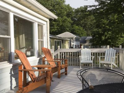 Photo for Cozy, lakefront cottage, highest rated lake in the area