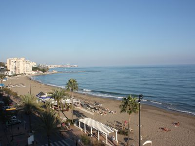 Photo for Stunning views of the Mediterranean Sea and the seafront's lively life