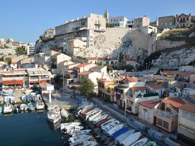Photo for Marseilles: bed and breakfast with fantastic seaview