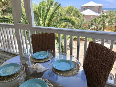 Photo for 180 degree Gulf View - Private Home & Pool - Easy Beach Access, 3 King Bedrooms