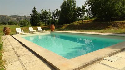 Photo for LUBÉRON - Beau Mazet Provençal - Pool - Private Tennis - Exceptional View