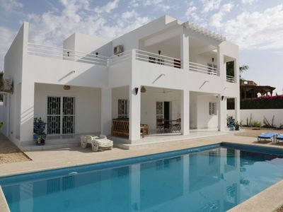 Photo for Luxury villa with private pool (10X4,5) - Wifi - 4 hours of cleaning included