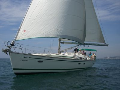 Photo for Boat rental Sitges and Barcelona. Cabins 5. Cap 10