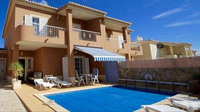 Photo for Villa '50 SOLEILS '+ Private Pool, 4BR - 3BA sleeps 7 WiFi-TV Porto do Mòs beach