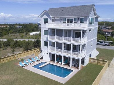 Photo for Brand New 2019- Oceanview Salvo w/ Pool, Hot Tub, Theater & Game Rooms, Elevator