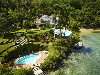 Photo for Villa Rio Chico - 14 Acre Estate w/ Private Beach. Option of 6 or 8 bedrm rental