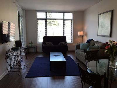 Photo for Beautiful Secure Lower Lonsdale 1 Bedroom Apartment