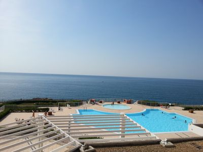 Photo for SETE WATERFRONT, BEACH 100 m, POOL, AIR CONDITIONING