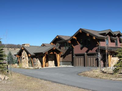 Photo for 4 bedroom luxury home on the river in Breckenridge Colorado