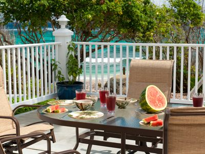 Photo for Cruzan Sands Villa! BEACHFRONT! Save $500 if just Two People! Just Ask! Awesome!
