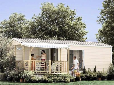 Photo for Camping Ur-Onea *** - Mobil Home 3 Rooms 5/6 Places