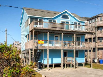 Photo for Delightful Family-Friendly Semi-Oceanfront Home, Waves! Pool, Hot Tub, Game Room