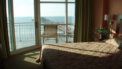 Photo for Relax in Paradise - beach & golf getaway - Ocean front at Cherry Grove Pier