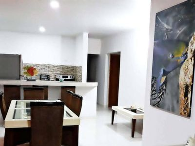 Photo for Great house in the center and a few meters from the beach in San Andres