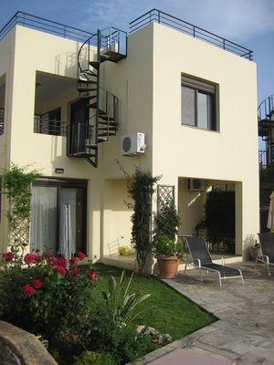 Photo for Kokkino Chorio Superb Detached Villa-Shared Large Pool,Stunning Sea View & WiFi