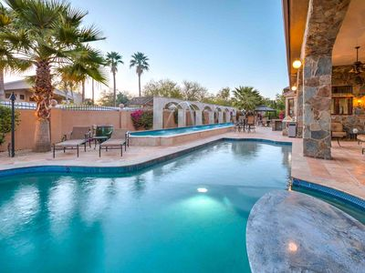 Photo for NEW! Private Tennis Court, 2 pools, LUXURY, theater, full gym, chipping green