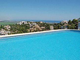 Pool and Sea View in beautiful Urbanization near Denia and other main sites