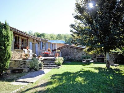 Photo for Detached, authentic holiday home with garden and mountain views in France