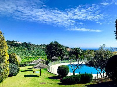 Photo for Superb villa in a luxury building 400 meters from the beach of Santa Giulia